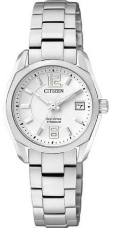 Citizen EW2101-59B Super Titanium  Uhren